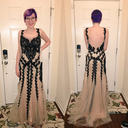 Prom Dresses Sexy Heart-shaped Neckwear Multi-layer Mesh Black Lace  Decorated Diamond Shining Fishtail Pack Button Tail Dress Custom Package dfc6ea14c50c