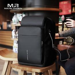 $enCountryForm.capitalKeyWord Australia - Mark Ryden Men Backpack Multifunction Usb Charging 17 Inch Laptop Bag Large Capacity Waterproof Travel Bags For Men Y19061004