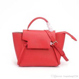Rivets spots online shopping - HK star female fashion bags with money belt catfish bales wings one shoulder bag leather hand palmprint aslant laptop bags spot