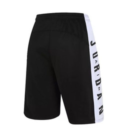Toptan satış Yaz Basketbol Şort Erkekler spor eğitimi Pantolon Diz Boyu Çabuk Kuru Nefes Nefes Futbol Egzersiz Şort