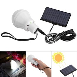 Wholesale Portable Solar Bulb Lights Rechargeable LED Light Bulb Solar Lamp Emergency Lamps For Home Outdoor Camping Fishing Hiking Tent Picnic Home
