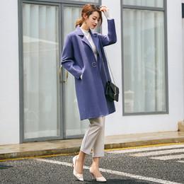 $enCountryForm.capitalKeyWord Australia - Fashion Solid Long Wool Blend Ladies Coat Slim Office Lady Women's Jacket Single Button Korean Womens Fashion Coat