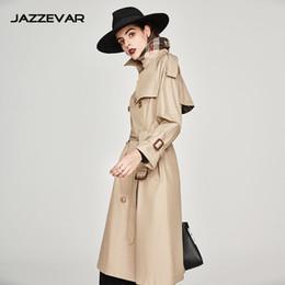 7a6179a74b Beige Dust Coat Australia - trench coat long spring waterfall runway coats  women 2019 plus size