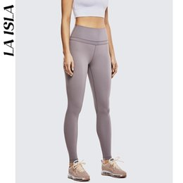 $enCountryForm.capitalKeyWord Australia - Women's Naked Feeling High Rise Lightweight Tight Sports Yoga Leggings 24'' 28''