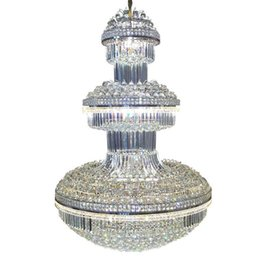 $enCountryForm.capitalKeyWord UK - Large Modern Crystal Chandelier Lighting for Hotel Villa Light Color Changable with Remote Control