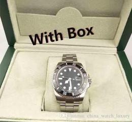 Relojes para hombre de lujo de calidad bisel de cerámica 116610 hombres correa de acero inoxidable reloj mecánico automático 2813 reloj de pulsera de zafiro