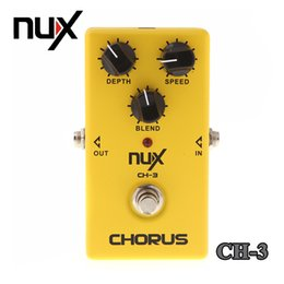 guitar effects free shipping NZ - NUX CH-3 Chorus Electric Guitar Effect Pedal Fully Analog Circuit True Bypass Yellow Free Shipping