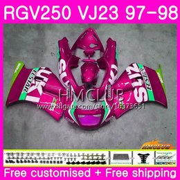 $enCountryForm.capitalKeyWord Australia - Bodys For SUZUKI SAPC RGV-250 VJ22 VJ21 RGV 250 97 98 99 Frame Hot Light pink 19HM.148 RVG250 VJ23 RGV250 VJ 21 22 23 1997 1998 1999 Fairing