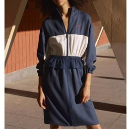 Ls Springs Australia - Womens Designer Shirt Dress Fashion Long Sleeve Women Luxury Brand Dresses New Arrival Spring Casual Dresses with Zipper Size S-L