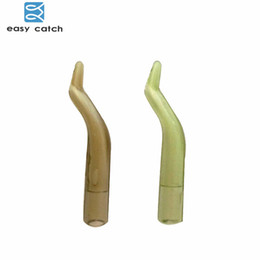 $enCountryForm.capitalKeyWord Australia - accessories pens Easy Catch 20pcs 2cm Fishing Hooks Sleeves Light Brown Green Rubber Carp Rigs Hook Sleeve Carp Fishing Accessories Tackles