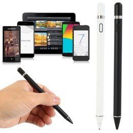 $enCountryForm.capitalKeyWord Australia - 2 in 1 Universal Touch Screen Pen Stylus Capacitive Tablet Stylus Pen Drawing Pens For Laptop PC Tablet Smartphone