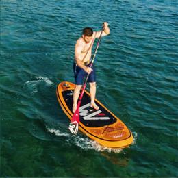 Vente en gros AQUA MARINA 315 * 75 * 15cm planche de surf gonflable FUSION stand up paddle planche de surf sport nautique sup board ISUP B01004
