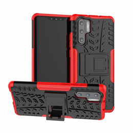 $enCountryForm.capitalKeyWord Australia - Hybrid Tire Tyre Pattern Kickstand Case For Huawei P30 Pro P30 mate 20 Pro Mate20 Honor 8X 8X max P20