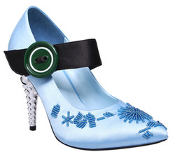 $enCountryForm.capitalKeyWord UK - Latest Spring queen girl's sweety dream pumps Woman metal heel Strap Sexy Evening Party Wedding Dress Shoes New 2019 T Show High heel Shoes