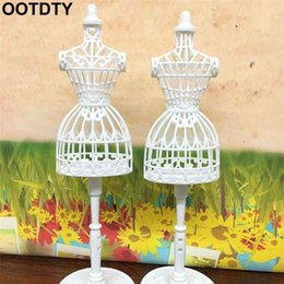 mannequin clothes stand Australia - 3pcs Display Gown Dress Clothes Rack Doll Mannequin Hollow Model Holder Stand