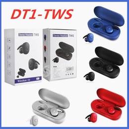 Wholesale types bluetooth headphone for sale - Group buy New Type DT TWS Sport Wireless Headphones Bluetooth V5 with Charging Box Running Earphones Universal for Smartphones