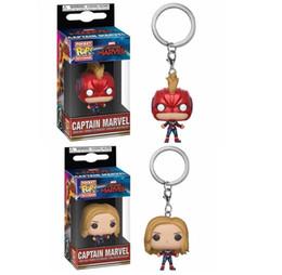 Spider Keychain Australia - Funko POP Captain Marvel Keychain Spider U.S.A Marvel Captain with Box