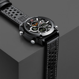 Mens Military Wrist Watches Australia - Luxury Relogio Masculino Men's Watches Waterproof Reloj Hombre Sport Wrist Watch For Mens Hour Military Quartz Male Clock 2019 Y19051603