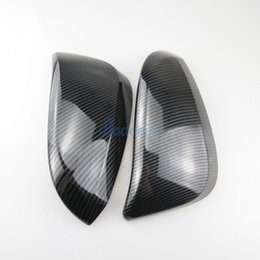 Discount accessories for rav4 - For Toyota Fortuner AN150 AN160 SW4 2015-2018 Innova 2016-2017 Carbon Fiber Color Door Mirror Overlay Rear View Cover Ca