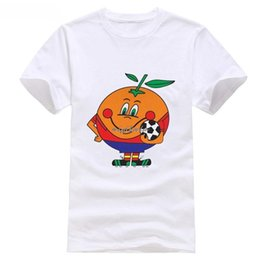 New fashion Herren T Shirt Spanien TShirt World Footballer 1982 Cup Goal für Herren Sommer Shirt