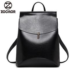 Styles Backpacks Australia - Hot Fashion Women Backpack High Quality Youth Leather Backpacks For Teenage Girls Female School Shoulder Bag Bagpack Mochila Y19061102