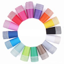 Colorful disposable Cups online shopping - Children mL Colorful Drinking Cups Kids Kingdergarten DIY Cups Household Disposable Cup Party Decortions Paper Cups Eco friendly Colors