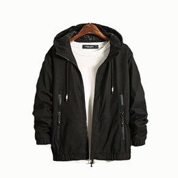 Korean Mens Jackets Coats UK - New Mens Autumn Winter Jackets Warm Zipper Coat Patchwork And Stripe Design Fashion Bomber Jacket Kurtka Korean Clothes 50JK045