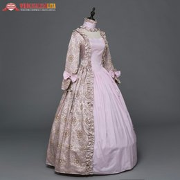reenactment clothing NZ - Gothic Period Medieval Dresses Southern Belle Victorian Dress Steampunk Ball Gown Reenactment Clothing Theatre Costume