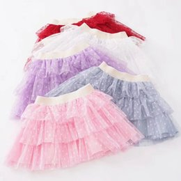 Wholesale Christmas Tutus Australia - Girls Skirt TuTu shorts candy colors baby girl skirt tutu christmas skirts for girls sequins Skirt for dancing cheap on sale Princess Skirts
