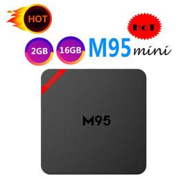 Mini pc internet online shopping - 1 M95 MINI TV Box Allwinner H3 GB GB Best Internet TV Box Android better than MXQ PRO RK3229 TV Box support K H P GB