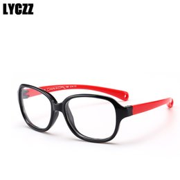 585890b410bc LYCZZ Children Glasses Frame Flexible TR90 Silicone Kids Prescription  Glasses Diopter Optical Eyeglasses Boy Girl Eyewear Frames