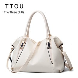 $enCountryForm.capitalKeyWord Australia - Ttou Designer Women Handbag Female Pu Leather Bags Handbags Ladies Portable Shoulder Bag Office Ladies Hobos Bag Totes