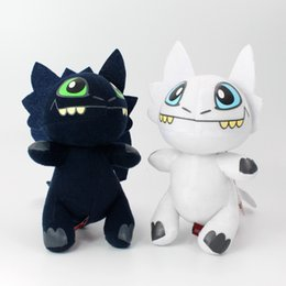 $enCountryForm.capitalKeyWord NZ - How to Train Your Dragon White Toothless Plush Toy, Light Fury Stuffed Doll, Key Buckle, for Party Kid' Birthday Gift, Collecting,Decotation