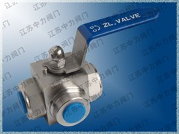 Way Ball Valve Australia - Imported high pressure three-way reversing ball valve