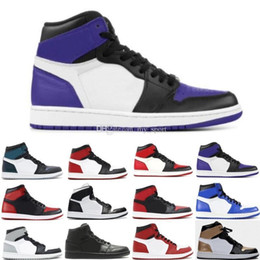 Home Torch Australia - Top 1 High 3 Game Royal Blue Basketball Shoes 1s Court Purple Pine Green Wheat Shadow Chicago Homage To Home Pass The Torch Sneakers Women