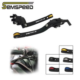 foldable brake clutch NZ - SEMSPEED YZF-R3 LOGO For YZF R3 R 3 YZF-R3 2020 2020-2020 2020 Motorcycle Accessories CNC Foldable Brake Clutch Levers