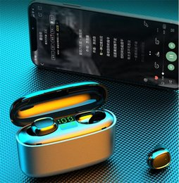 coloured headphones Australia - Huawei Mode TW08 P10 TWS Wireless Bluetooth 5.0 Earphones Headphones Earbuds Two Colour Binaural Calls Headsets For IOS Android Phone #OU198