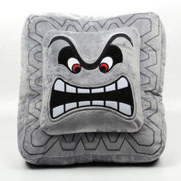 $enCountryForm.capitalKeyWord UK - Super Mario Bros Thwomp Dossun 6in Plush Doll Toy Game Cushion Pillow Size S Stuffed Animal