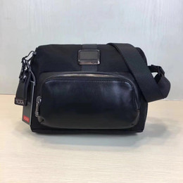 $enCountryForm.capitalKeyWord NZ - Ballistic nylon 222305 HXXBTUMI male travel tumi shoulder Messenger bag wear-resistant waterproof Sport&Outdoor Packs messenger bags