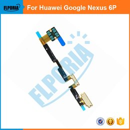 huawei flex cable Australia - For Huawei Google Nexus 6P Power Switch On Off + Volume Button UP Down Flex Cable Cellphone Parts