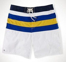 $enCountryForm.capitalKeyWord Canada - Global America Men Striped Polo Shorts Big Pony Embroidery Summer Spring Cotton Male Board Trunks Swimming Short Pants White Green