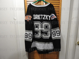 quick cup Australia - Cheap custom WAYNE GRETZKY 1993 STANLEY CUP CCM LOS ANGELES KINGS JERSEY Mens Personalized stitching jerseys