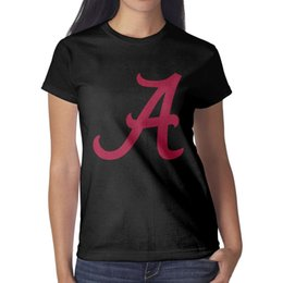 f96fc917 American football college team alabama logo Woman Tees Cute Workout Funny T  Shirts Printing O Neck Shirts Womans Graphic T Shirts