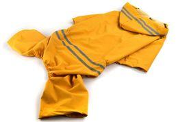 $enCountryForm.capitalKeyWord Australia - 10PCS Rain Poncho for Pet Dog Fashion Large Dog Raincoats Lightweight Poncho Pet Waterproof Jacket 5 Sizes Red Blue Yellow Green Colors