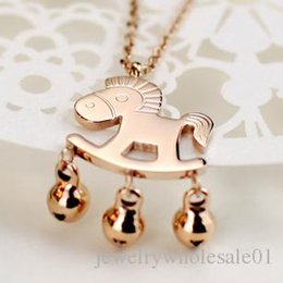 $enCountryForm.capitalKeyWord Australia - Fashion Accessories Hot Jewelry Titanium 316L Stainless Steel costume Circle Pendant Necklace for women Chain wholesale fashion jewelry