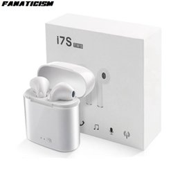 red wireless tablet Australia - Wholesale i7s tws Mini Bluetooth 5.0 Earphone Wireless Earphones With Charge Box with mic For iphone Huawei All smart phone ipad Tablet