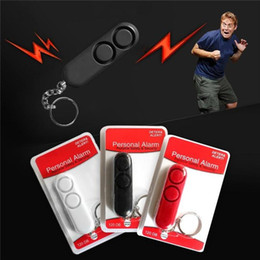Personal Protection alarms online shopping - 120db Anti Rape Dual Speakers Loud Alarm Alert Attack Panic Safety Personal Alarm Bell Security Protection Bag keychain DLH197