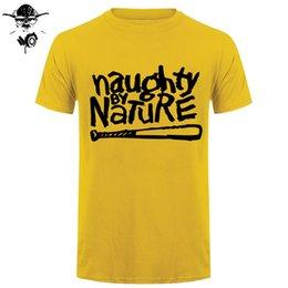 b5de734c 2019 mens designer t shirts Naughty By Nature Old School Hip Hop Rap  Skateboardinger Music Band 90s girl T-shirt Cotton T Shirt