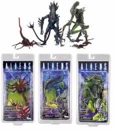 Toy red horse online shopping - Dark Horse Aliens Series inch Mantis Alien Gorilla Alien and Queen Face Her Action Figure Model Toy Set