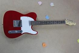 Freies Verschiffen hochwertiger niedrigerer Preis rote Farbe Gitarren Telecaster Electricguitar im Angebot